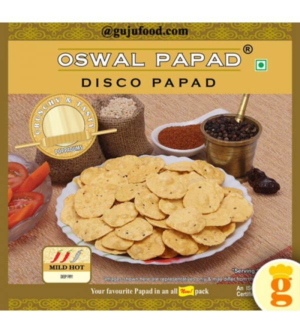 Disco Papad 500gm